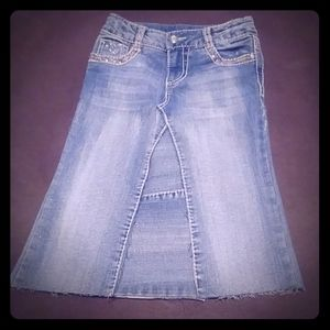 Cute Girls Jean Skirt size 6X